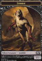 2015 Core Set: Zombie Token