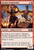Core Set 2019: Kargan Dragonrider (Planeswalker Deck)