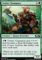 Core Set 2019: Ursine Champion (Planeswalker Deck)