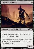 Core Set 2019: Tattered Mummy (Planeswalker Deck)