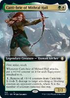 Adventures in the Forgotten Realms Commander Decks Variants: Catti-brie of Mithral Hall (Extended Art)