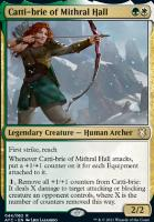 Adventures in the Forgotten Realms Commander Decks: Catti-brie of Mithral Hall