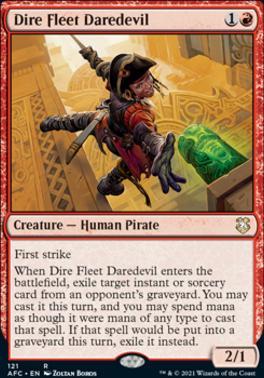 Adventures in the Forgotten Realms Commander Decks: Dire Fleet Daredevil
