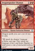 Adventures in the Forgotten Realms Commander Decks: Dragonspeaker Shaman