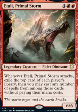 Adventures in the Forgotten Realms Commander Decks: Etali, Primal Storm