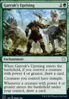 Adventures in the Forgotten Realms Commander Decks: Garruk's Uprising