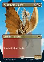 Adventures in the Forgotten Realms Variants: Adult Gold Dragon (Borderless)