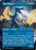 Adventures in the Forgotten Realms Variants: Blue Dragon (Borderless)