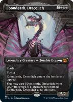 Adventures in the Forgotten Realms Variants: Ebondeath, Dracolich (Borderless)