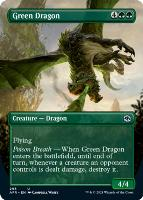 Adventures in the Forgotten Realms Variants: Green Dragon (Borderless)