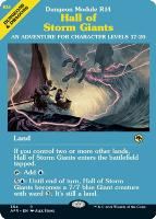 Adventures in the Forgotten Realms Variants: Hall of Storm Giants (Showcase)