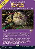 Adventures in the Forgotten Realms Variants: Hive of the Eye Tyrant (Showcase)