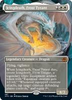 Adventures in the Forgotten Realms Variants: Icingdeath, Frost Tyrant (Borderless)