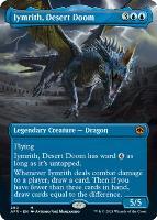 Adventures in the Forgotten Realms Variants: Iymrith, Desert Doom (Borderless)