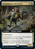 Adventures in the Forgotten Realms Variants: Triumphant Adventurer (Extended Art)