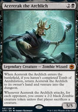 Adventures in the Forgotten Realms: Acererak the Archlich