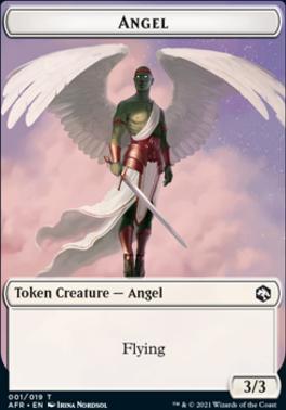 Adventures in the Forgotten Realms Foil: Angel Token