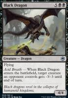 Adventures in the Forgotten Realms Foil: Black Dragon