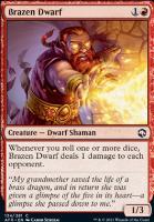 Adventures in the Forgotten Realms: Brazen Dwarf