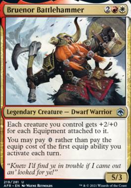 Adventures in the Forgotten Realms: Bruenor Battlehammer
