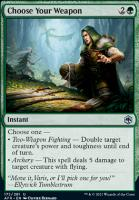 Adventures in the Forgotten Realms Foil: Choose Your Weapon