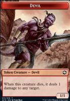 Adventures in the Forgotten Realms Foil: Devil Token