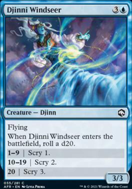 Adventures in the Forgotten Realms Foil: Djinni Windseer