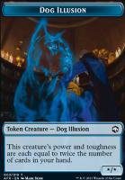 Adventures in the Forgotten Realms Foil: Dog Illusion Token