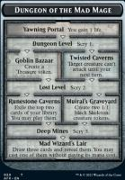 Adventures in the Forgotten Realms Foil: Dungeon of the Mad Mage // Goblin Token