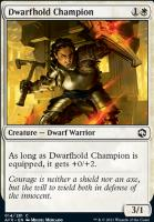 Adventures in the Forgotten Realms Foil: Dwarfhold Champion