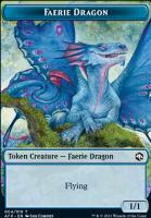 Adventures in the Forgotten Realms Foil: Faerie Dragon Token