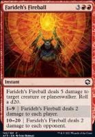 Adventures in the Forgotten Realms Foil: Farideh's Fireball