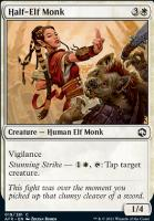 Adventures in the Forgotten Realms Foil: Half-Elf Monk