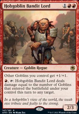 Adventures in the Forgotten Realms: Hobgoblin Bandit Lord