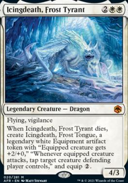 Adventures in the Forgotten Realms: Icingdeath, Frost Tyrant