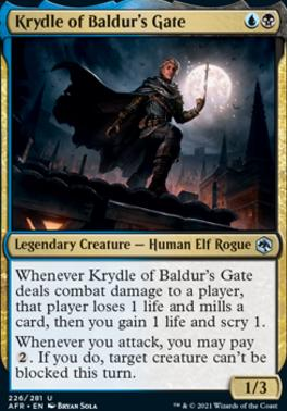 Adventures in the Forgotten Realms: Krydle of Baldur's Gate