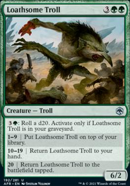 Adventures in the Forgotten Realms: Loathsome Troll