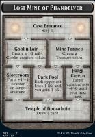 Adventures in the Forgotten Realms Foil: Lost Mine of Phandelver // Skeleton Token