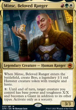Adventures in the Forgotten Realms: Minsc, Beloved Ranger