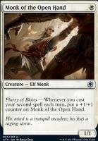 Adventures in the Forgotten Realms Foil: Monk of the Open Hand