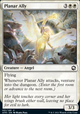 Adventures in the Forgotten Realms: Planar Ally