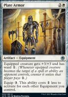 Adventures in the Forgotten Realms Foil: Plate Armor