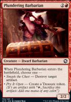 Adventures in the Forgotten Realms Foil: Plundering Barbarian