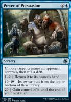 Adventures in the Forgotten Realms Foil: Power of Persuasion
