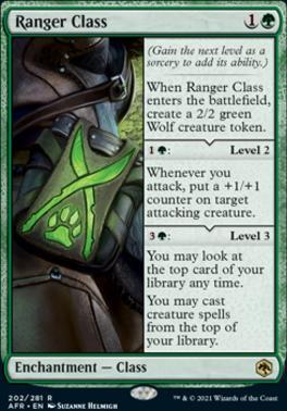 Adventures in the Forgotten Realms Foil: Ranger Class