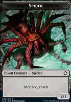 Adventures in the Forgotten Realms Foil: Spider Token