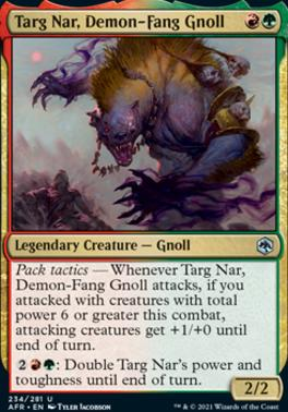 Adventures in the Forgotten Realms: Targ Nar, Demon-Fang Gnoll