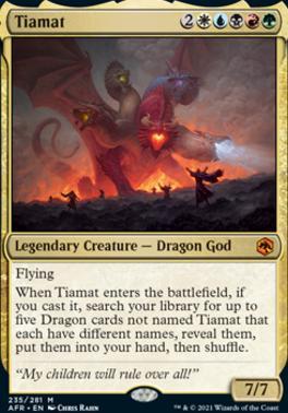 Adventures in the Forgotten Realms: Tiamat