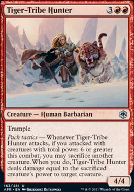 Adventures in the Forgotten Realms Foil: Tiger-Tribe Hunter