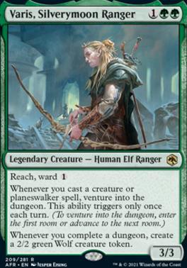 Adventures in the Forgotten Realms: Varis, Silverymoon Ranger